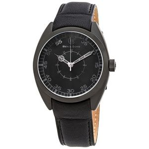 Ben and Sons Voyager Black Mens Watch BS-10014-BB-